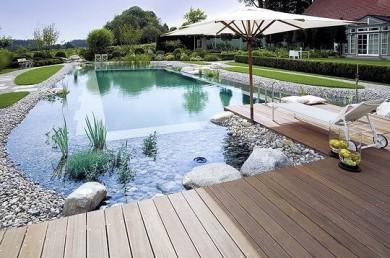 Construction d'une piscine en zone n