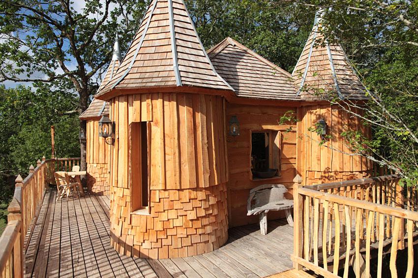 Cabane en bois dordogne