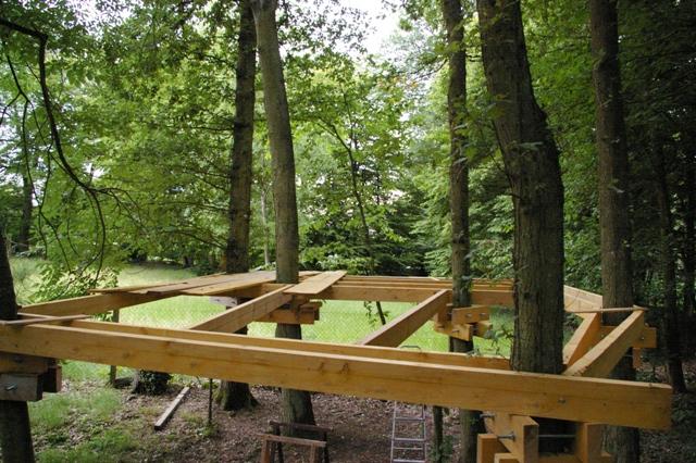 cabane dans les arbres fixation jardin piscine et cabane. Black Bedroom Furniture Sets. Home Design Ideas