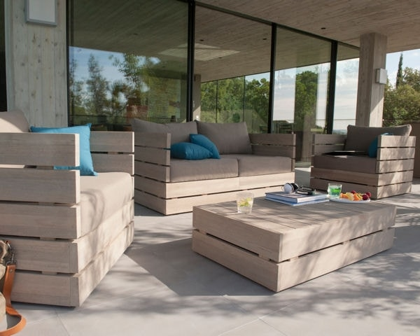 Salon de jardin moderne pas cher - Jardin piscine et Cabane