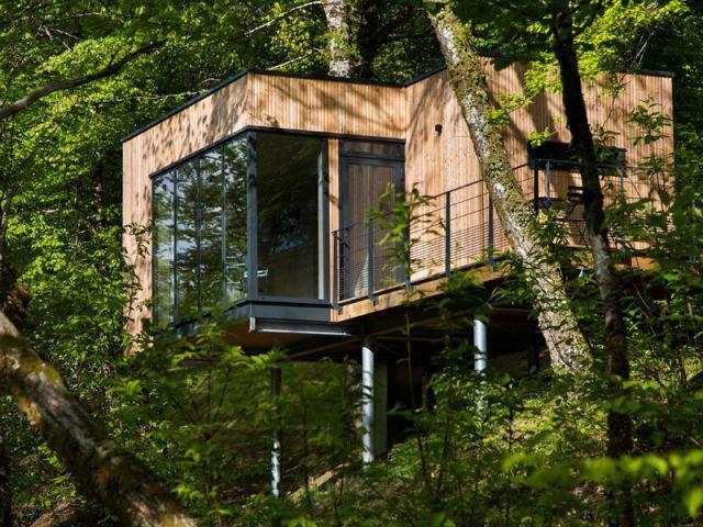 Cabane en bois design