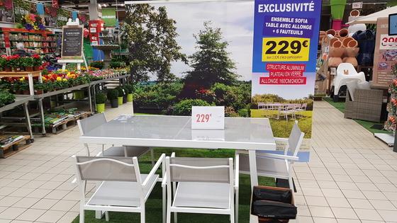 Salon de jardin carrefour sofia - Jardin piscine et Cabane