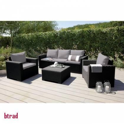 salon de jardin fer forg amazon jardin piscine et cabane. Black Bedroom Furniture Sets. Home Design Ideas