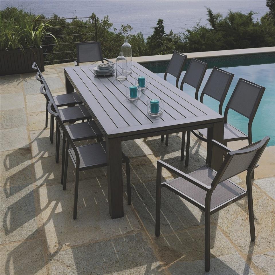 Truffaut salon de jardin en teck - Jardin piscine et Cabane