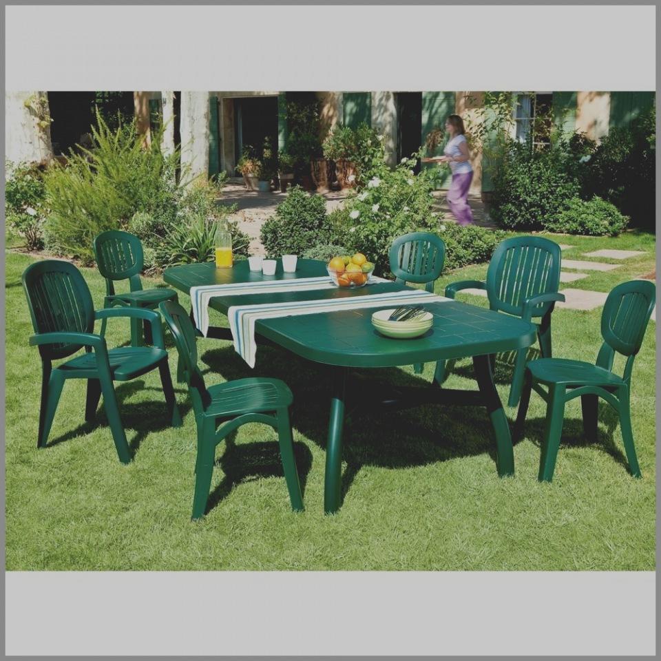 Entretien salon de jardin en plastique vert - Jardin piscine et Cabane