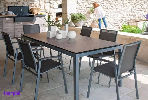 salon de jardin a truffaut jardin piscine et cabane. Black Bedroom Furniture Sets. Home Design Ideas
