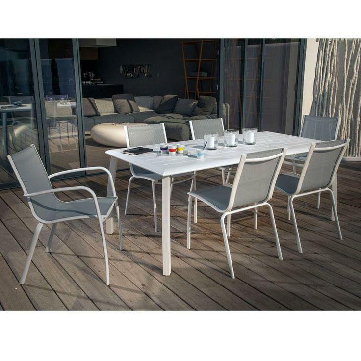 Salon de jardin 6 places polywood palma