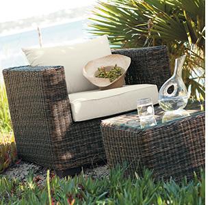 Salon de jardin résine tressée bonne qualité - Jardin piscine et Cabane