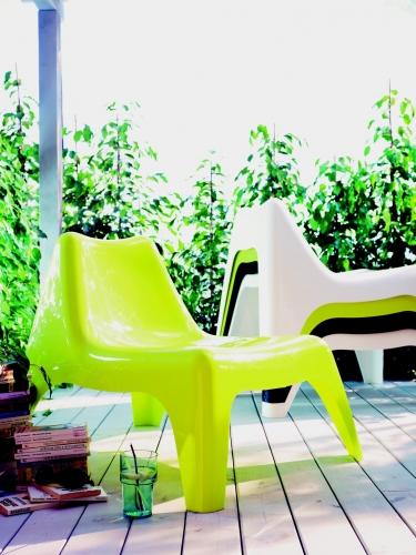 Fauteuil salon de jardin plastique - Jardin piscine et Cabane