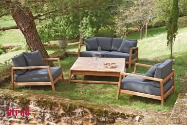 salon de jardin teck truffaut jardin piscine et cabane. Black Bedroom Furniture Sets. Home Design Ideas