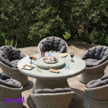 Salon de jardin yellow balau - Jardin piscine et Cabane