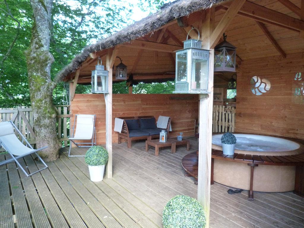 Cabane spa dans les arbres ile de france