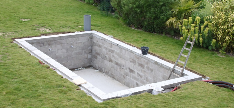 Forum construction piscine en parpaing jardin piscine et cabane - Autoconstruction piscine ...