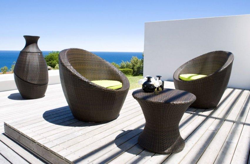 Salon de jardin tressé noir carrefour - Jardin piscine et Cabane