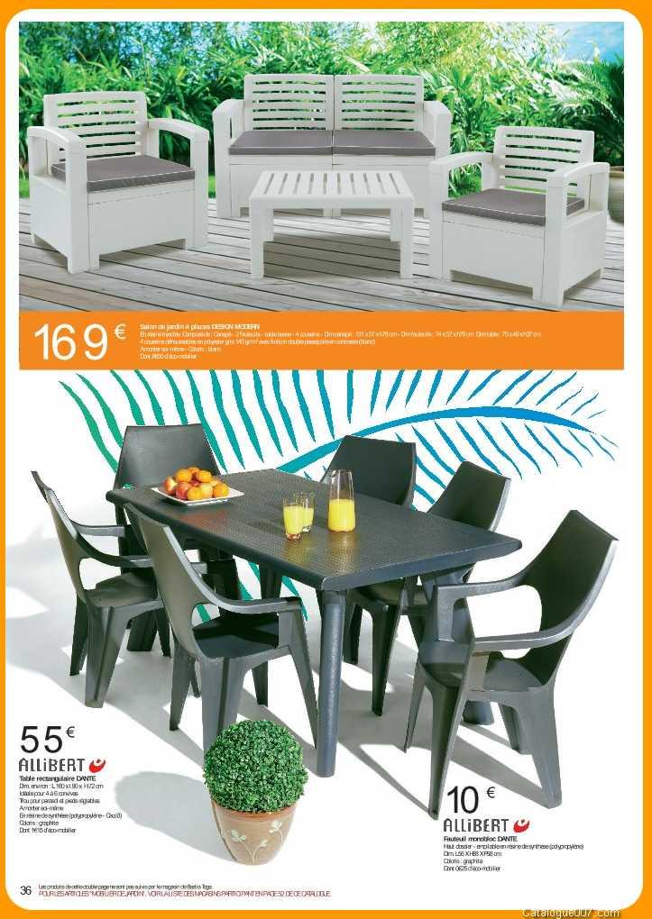 Salon de jardin en resine geant casino - Reconquetefrancaise.fr