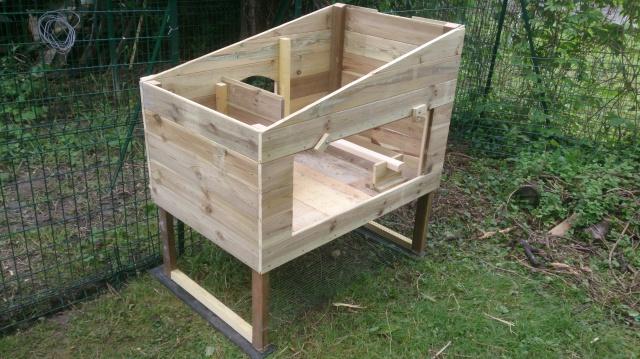 schema cabane a poule jardin piscine et cabane. Black Bedroom Furniture Sets. Home Design Ideas