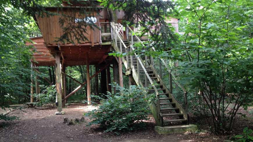 Cabane arbre terrain non constructible