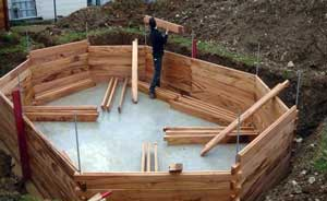 Permis de construire piscine bois jardin piscine et cabane - Comment faire une piscine pas cher ...