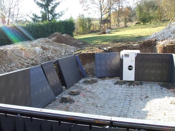 photos construction piscine desjoyaux jardin piscine et. Black Bedroom Furniture Sets. Home Design Ideas