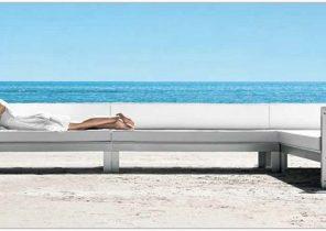 Mobilier de jardin teck et aluminium - Jardin piscine et Cabane