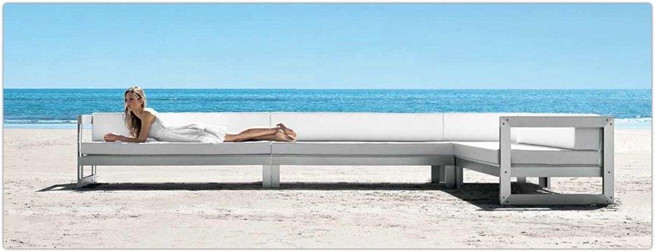 Salon de jardin aluminium haut de gamme - Jardin piscine et Cabane