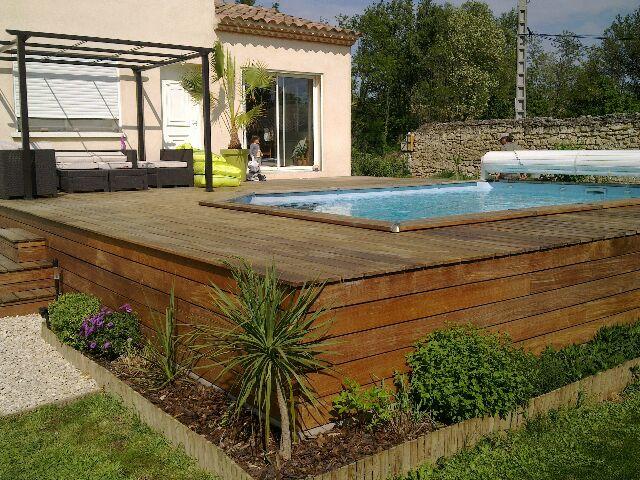 Construire une piscine sur une terrasse
