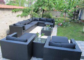 Salon de jardin resine viro - Jardin piscine et Cabane