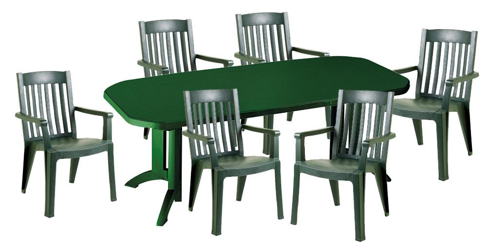 Chaise plastique salon de jardin pas cher
