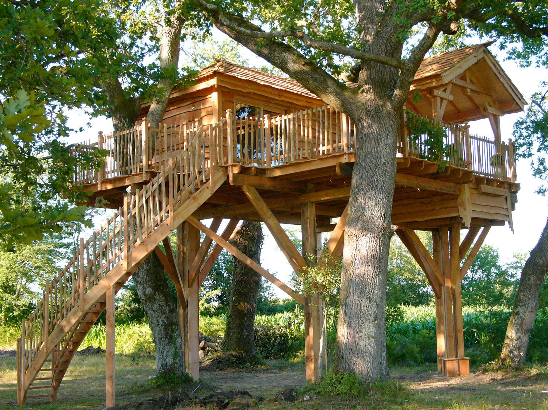 cabane arbre fabricant jardin piscine et cabane. Black Bedroom Furniture Sets. Home Design Ideas