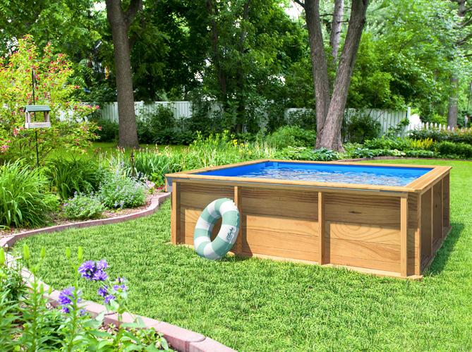 piscine jardin hors sol pas cher jardin piscine et cabane