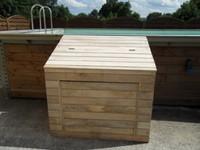 Construire Un Local Technique Pour Piscine En Bois Jardin Piscine - Local technique piscine en bois