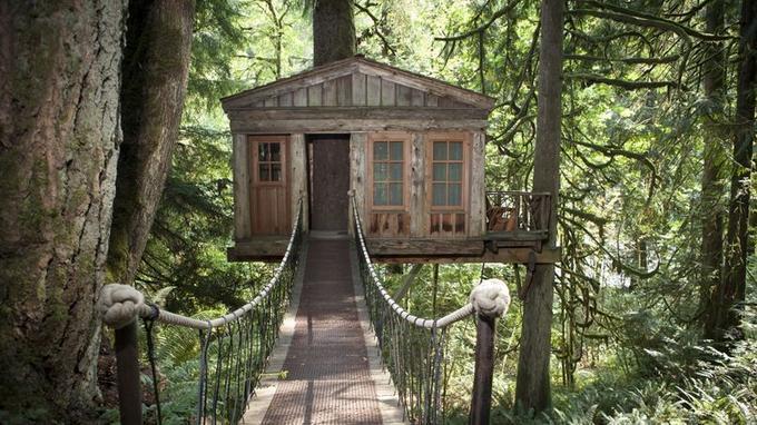 Cabane en bois france