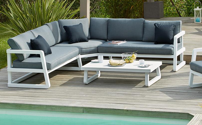Salon de jardin aluminium avis - Jardin piscine et Cabane