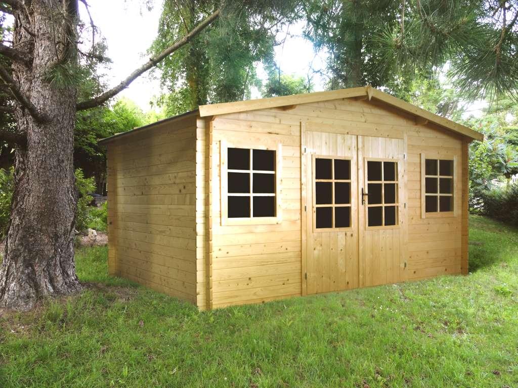 Abri de jardin pas cher 15 m2 jardin piscine et cabane - Abri de jardin pas chere ...