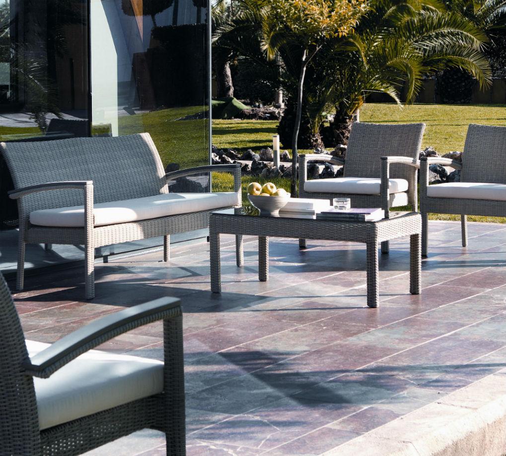 Salon de jardin aluminium resine - Jardin piscine et Cabane