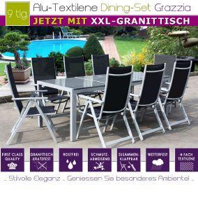 Salon de jardin chaise textilene