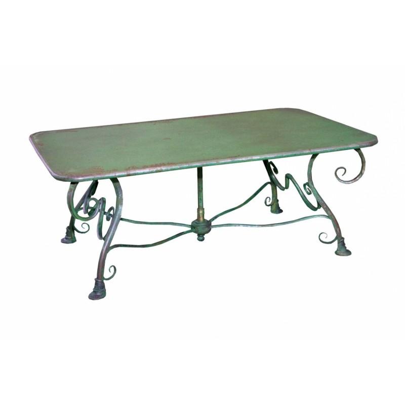 Table salon de jardin en fer