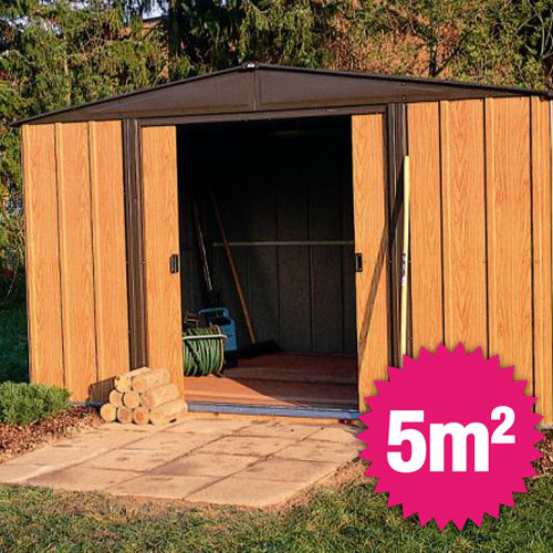 abri de jardin galvanise pas cher jardin piscine et cabane. Black Bedroom Furniture Sets. Home Design Ideas