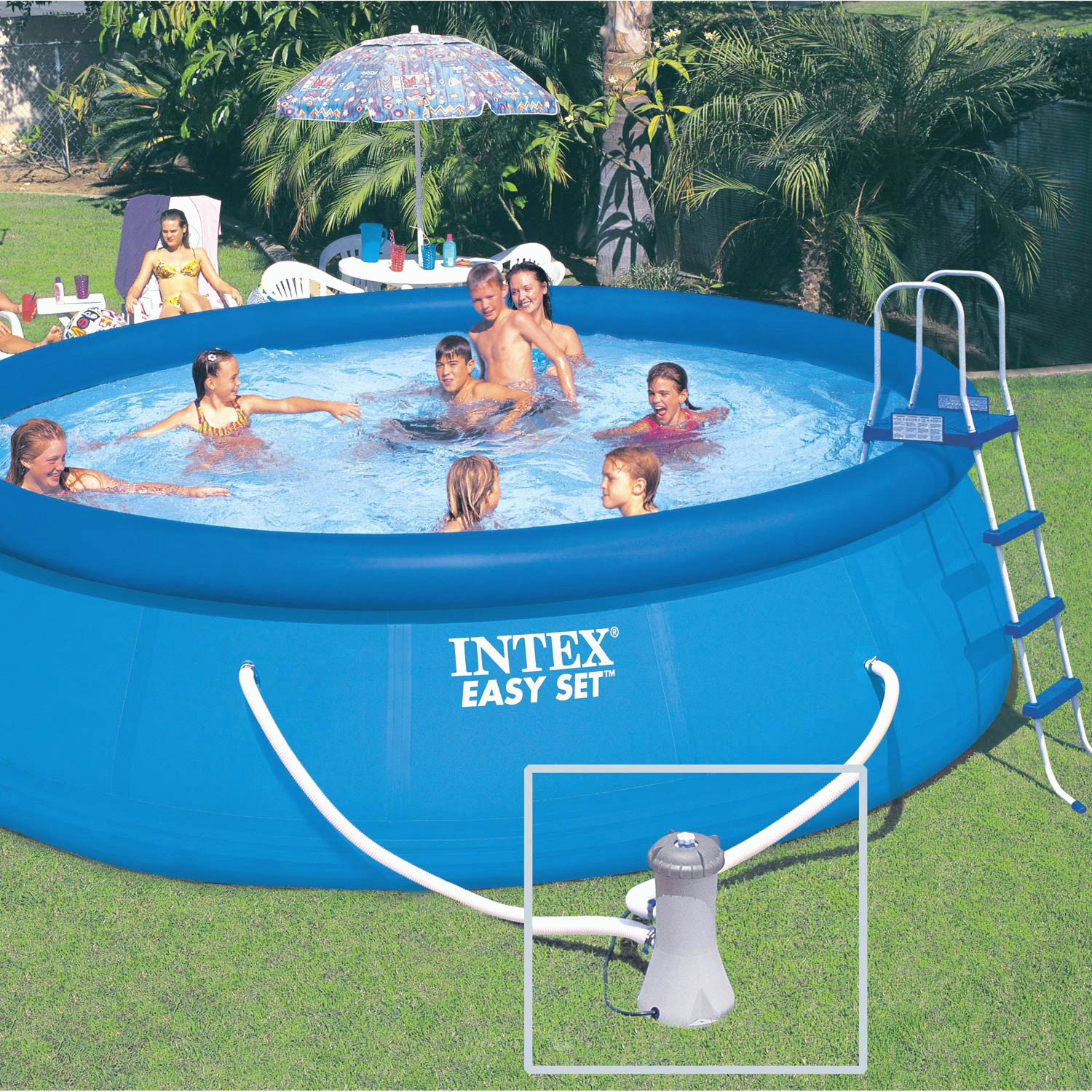 Piscine gonflable intex brico