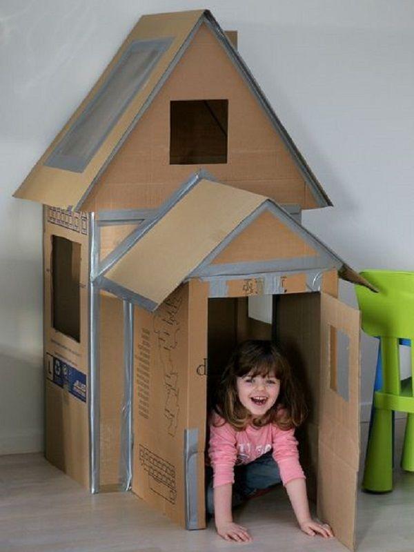 Modele cabane en carton