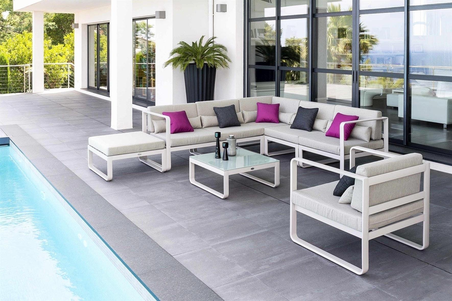 salon de jardin aluminium brico depot jardin piscine et. Black Bedroom Furniture Sets. Home Design Ideas