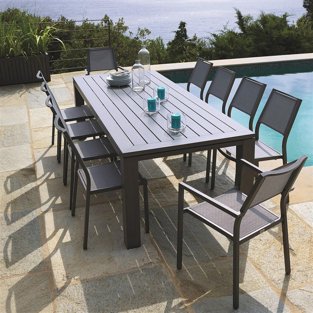 Best Table De Jardin Aluminium Ice Gris Pictures - House Interior ...