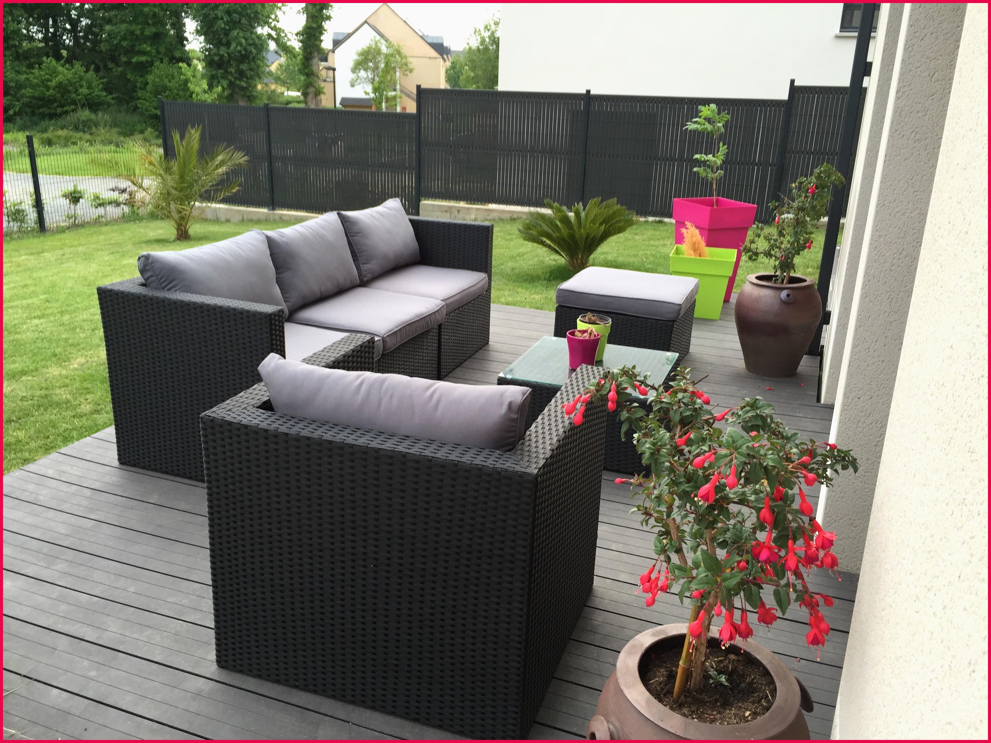 Amazon salon de jardin en resine tressee - Jardin piscine et Cabane