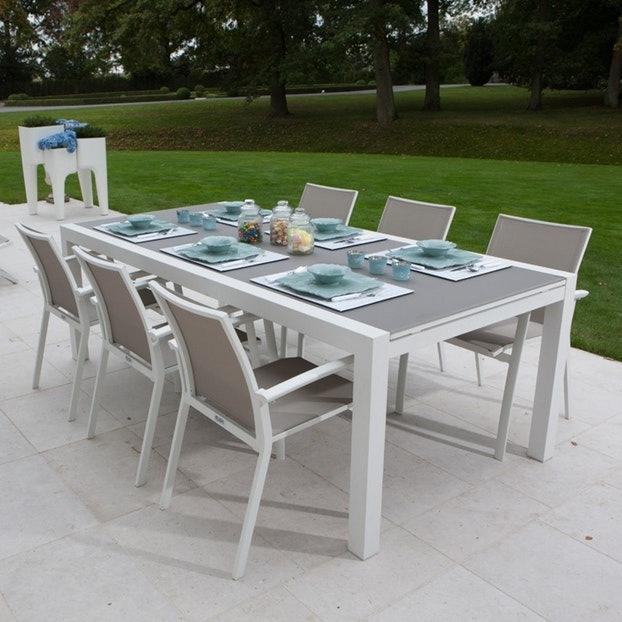 salon de jardin gris amazon jardin piscine et cabane. Black Bedroom Furniture Sets. Home Design Ideas