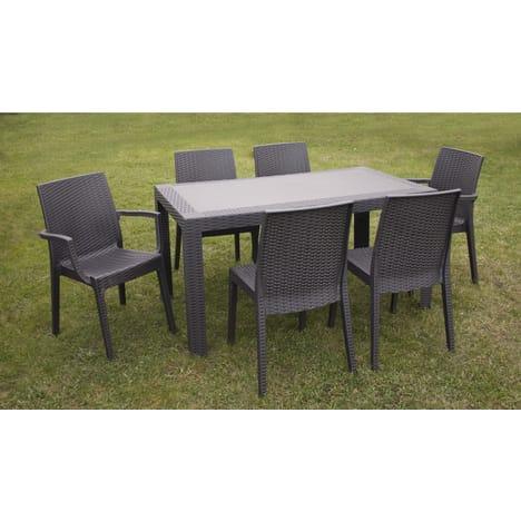 Table salon de jardin auchan