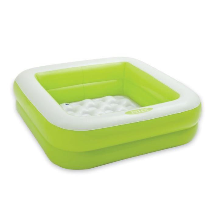 Piscine gonflable verte jardin piscine et cabane - Comment faire une piscine pas cher ...