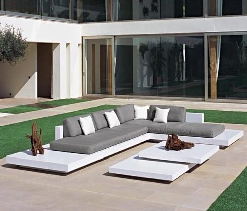 Salon de jardin luxe vendome