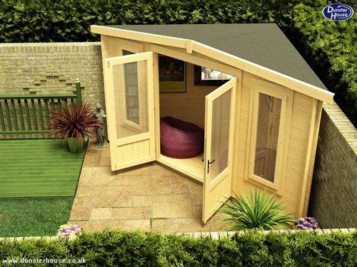 Cabane de jardin adossée