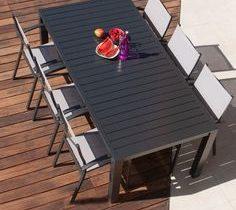 Salon de jardin gris cdiscount - Jardin piscine et Cabane