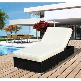 Salon de jardin résine tressée soleil - Jardin piscine et Cabane
